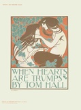 When Hearts Art Trumps Posters by Will H. Bradley