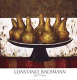 Sept Poires Posters by Constance Bachmann