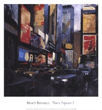 Times Square I Posters by Marti Bofarull