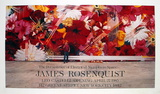 The Persistence of Electrical Nymphs in Space Poster di James Rosenquist