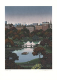 Boston Public Gardens Limited Edition by Jim Buckels