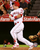 Mike Trout 2016 Action Photo