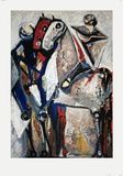 Two Riders Collectable Print by Marino Marini