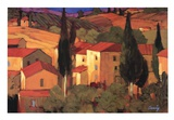 Terracotta Vista Art by Philip Craig