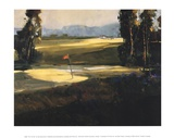 The 1st Tee Poster by Ted Goerschner