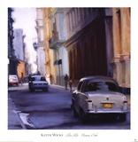 Slow Ride - Havana, Cuba Prints by Keith Wicks