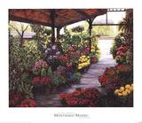 Paris Flower Market II Prints by Montserrat Masdeu