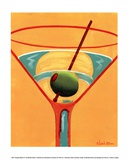 Sunglow Martini III Art by Michele Killman