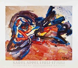 Oiseau Prints by Karel Appel