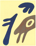 XXe Siecle no. 19 Collectable Print by Jean Arp