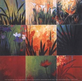 Tropical Nine Patch Posters af Don Li-Leger