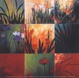 Don Li-Leger - Tropical Nine Patch Plakát