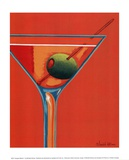Sunglow Martini I Prints by Michele Killman