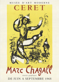 The Circus Collectable Print by Marc Chagall