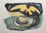 The Vortex Print by Benton Spruance