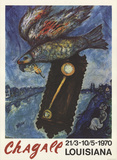 Louisiana Collectable Print by Marc Chagall
