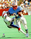 Earl Campbell 1983 Action Photo