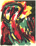 Untitled Collectable Print by Karel Appel