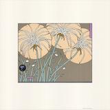 Flowers Serigraph by Sudi Mccollum