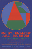 Colby College Art Musuem Serigraph by Robert Indiana