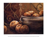 Tuscan Orange Prints by Linda Thompson