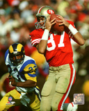 Dwight Clark 1985 Action Photo