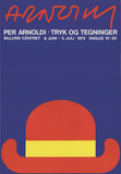 Tryk Og Tegninger Serigraph by Per Arnoldi