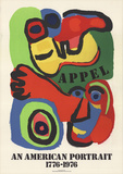 An American Portrait Prints by Karel Appel