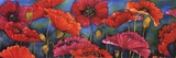 Poppy Parade Poster by Helen Downing-Hunter