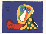 Langue de Bois Collectable Print by Karel Appel
