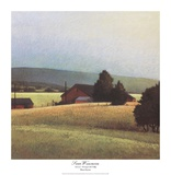 Summer Morning in the Valley Posters by Sandy Wadlington