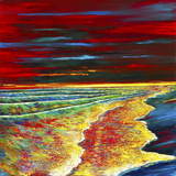Waves of Passion Limited Edition Print on Canvas by Ford Smith