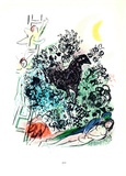 Songe d'un Amoureux Collectable Print by Marc Chagall