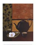 Sakura Tea I Kunstdrucke von Krista Sewell