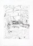Au Jardin D'enfants Limited Edition by Pierre Bonnard