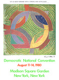 Democratic National Convention-New York Limited Edition by Frank Stella