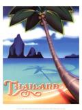 Thailand Posters by Ignacio Zabaleta