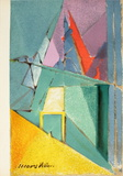 Intimite (intimacy) Collectable Print by Jacques Villon