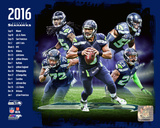 Seattle Seahawks 2016 Team Composite Photo