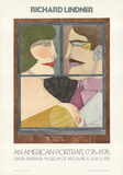 An American Portrait Collectable Print by Richard Lindner