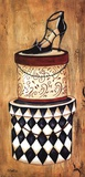 Vintage Hat Box II Print by Krista Sewell
