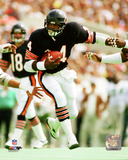 Walter Payton 1986 Action Photo
