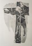 Ahab Aloft Art by Benton Spruance
