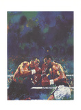 Tyson vs. Spinks Prints by LeRoy Neiman