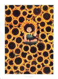Sunflower Collectable Print by Anne Geddes