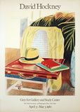 Still Life, Taj Hotel, Bombay (Lg) Collectable Print by David Hockney