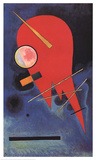 Rouge Collectable Print by Wassily Kandinsky