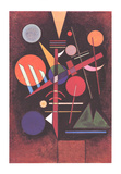 Equilibrium Serigraph by Wassily Kandinsky