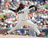 Johnny Cueto 2016 Action Photo