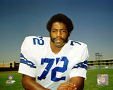 "Ed ""Too Tall"" Jones 1974 Posed Photo"